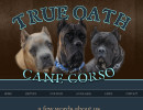 True Oath Cane Corso Arizona