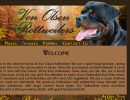 Rottweiler Breeder Website